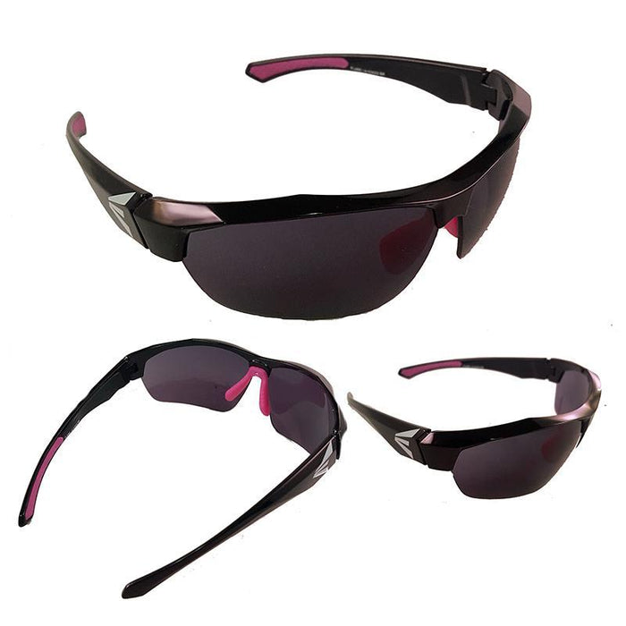 Easton Flare Sunglasses Black/Pink: A153022