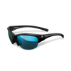Marucci Volo Performance Sunglasses Matte Black/Blue: MSNVOLO