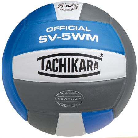Tachikara SV5-WM Leather Volleyball: SV5WM