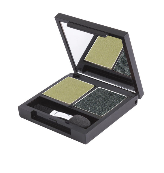 Certified Organic Duo Eyeshadow Palette