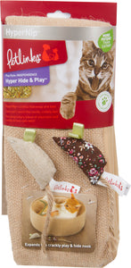 Crinkle Ring & Mice Cat Toy