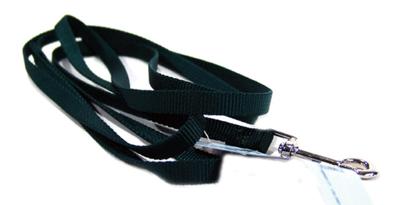 Emerald Green Single Thick Nylon Lead