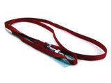 Red Single Thick Nylon Lead