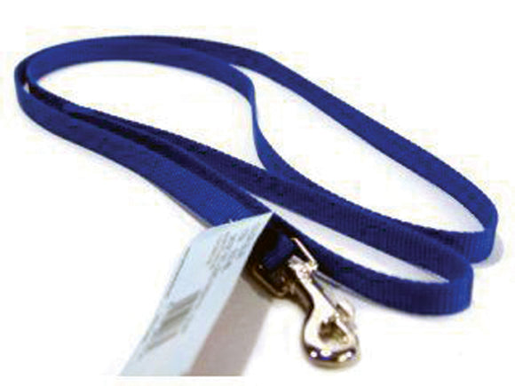 Blue Single Thick Nylon Lead