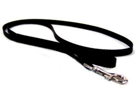 Black Single Thick Nylon Lead