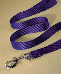 Hot Purple Single Thick Nylon Lead
