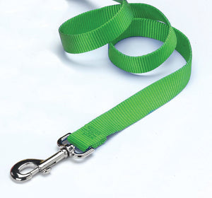 Lime Single Thick Nylon Lead