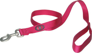 Pink Single Thick Nylon Lead