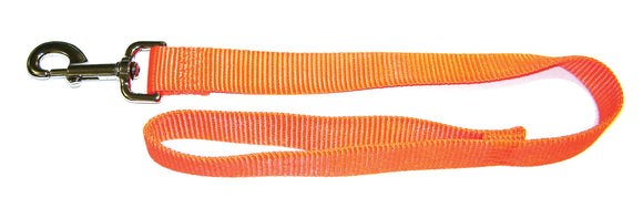 Orange Single Thick Nylon Lead