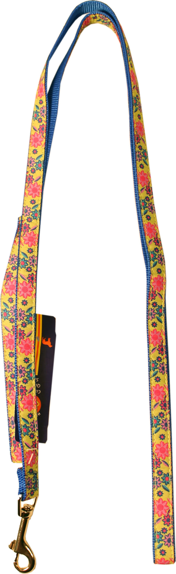 Lime Floral Leash