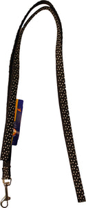 Black Polka Dot Leash