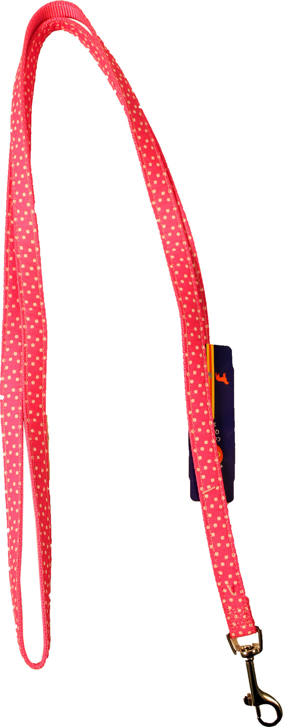 Pink Polka Dots Leash