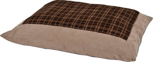 Plush Plaid Pillow