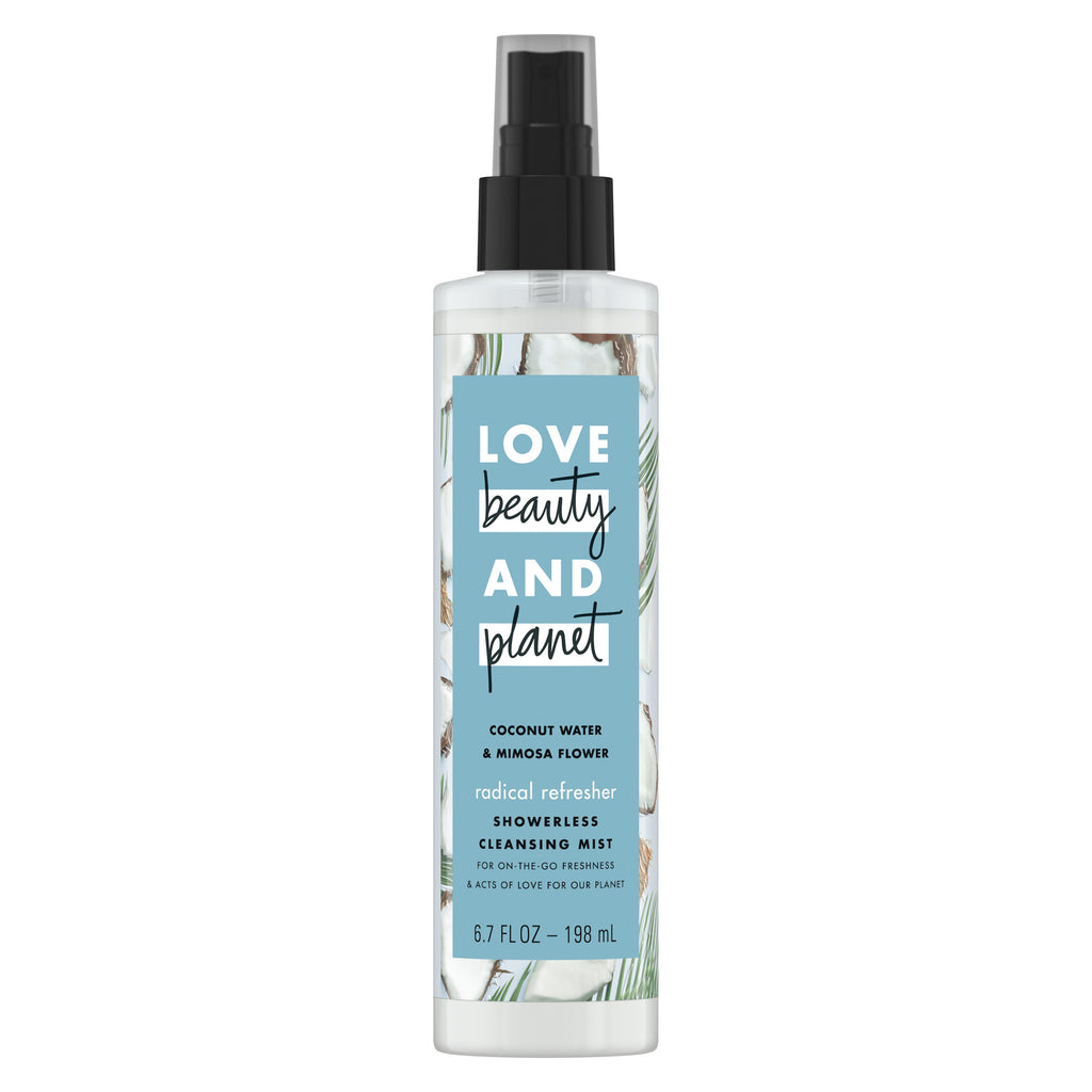 Love Beauty And Planet Coconut Water & Mimosa Flower Cleansing Body Mist Radical Refresher 6.7 oz