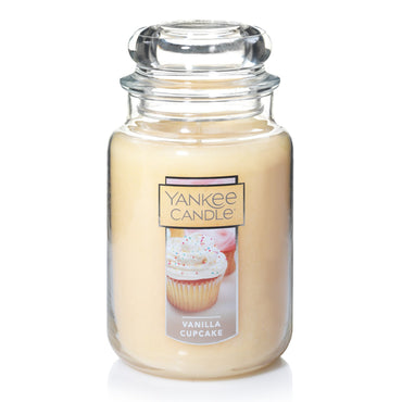 Yankee Candle Vanilla Cupcake 22-oz. Large Candle Jar