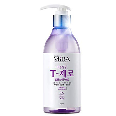[MiBA] Ion Calcuim T-ZERO Shampoo 500ml//2-in-1 Shampoo + Conditioner, For Scalp care, damaged hair