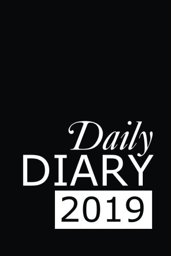 Daily Diary 2019: 365 Day Tabbed Journal January - December (Clark Diaries & Journals)