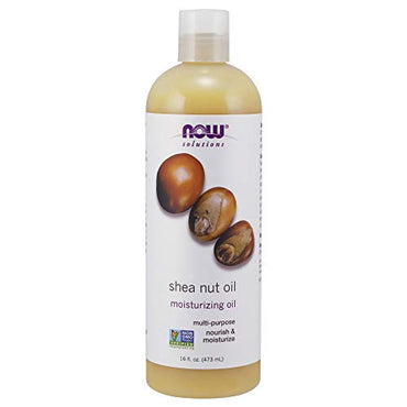 NOW Solutions Shea Nut Oil, 16-Ounce