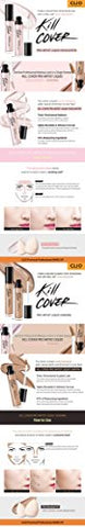 [Clio] Kill Cover Pro Artist Liquid Highlighter/Shading #2 Shading