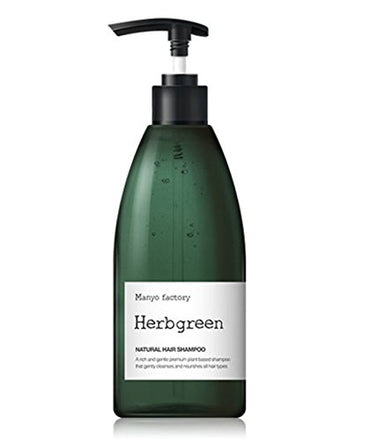 Manyo Factory Herb green Shampoo 530Ml