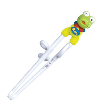 Edison Green Frog Kids Chopsticks, Right-Hand