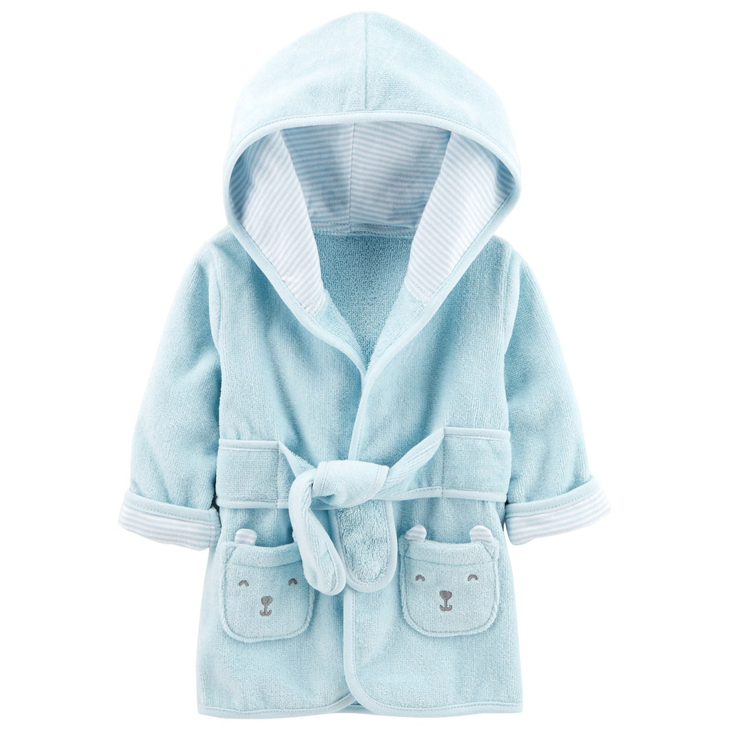 Baby Boy Carter's Hooded Bear Robe