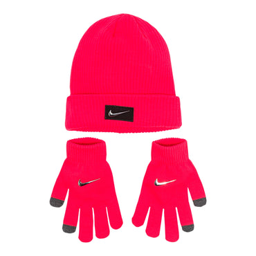 Girls 7-16 Nike Chrome Knit Beanie & Touch Screen Gloves Set