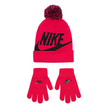 Girls 7-16 Nike Swoosh Hat & Gloves Set