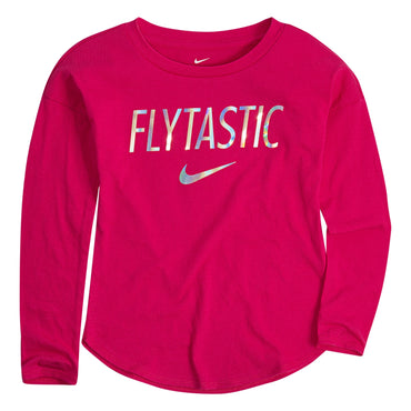 "Toddler Girl Nike ""Flytastic"" Graphic Top"