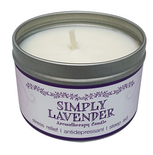 Our Own Candle Company Soy Wax Aromatherapy Scented Candle, Simply Lavender, 6.5 OunceOur Own Candle Company Soy Wax Aromatherapy Scented Candle, Simply Lavender, 6.5 Ounce
