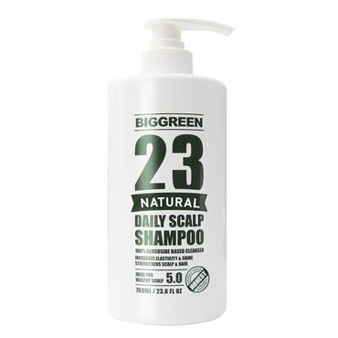 Big Green 23 Natural Daily Scalp Shampoo 23.6 fl oz-Natural Plant Based-Sulfate & Silicone Free-Helps Relieve Dry & Irritated Scalp-Botanical Oils Nourish...