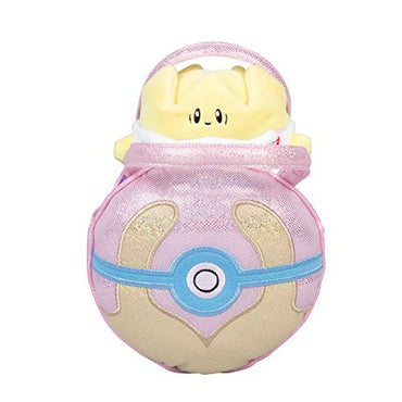 Pokémon Togopi Pokéball Plush Carrier Purse - with Cute Mini Togopi Plush Doll