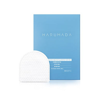 Harumada Triple Balance One Step Cleansing Foam Pad (1Box / 10ea)