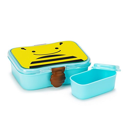 Skip Hop Baby Zoo Little Kid and Toddler Mealtime Lunch Kit Feeding Set