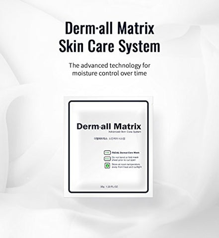 [Derm·all Matrix] Daily Facial Dermal-care(160g) : 4ea/pack
