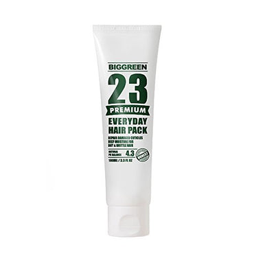 Big Green 23 Everyday Hair Pack 100ml, Natural Keratin, Silicone Free, Mositurizing, Hydrating, Deep Repairing