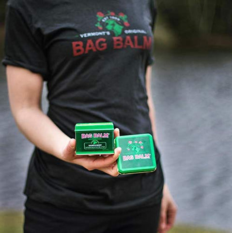 5 Pack Bag Balm Bundle with Collectible Pail for Cracked Hands, Dry Skin, Moisturizing Lotion Salve