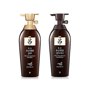 Ryoe Korean New Root Volume Shampoo 16.90 Oz/500Ml + Conditioner 16.9 Oz/500Ml