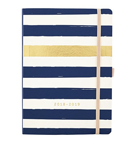 Busy B 2018-19 Mid Year Day A Page Diary - Day-to-View Agenda with Year Planner and Notes