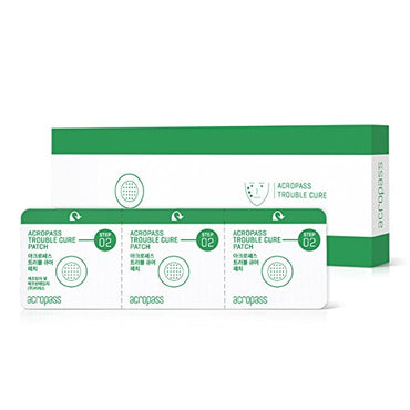 Trouble Cure Microneedle Pimple Patch - 6 Swabs, 6 Patches