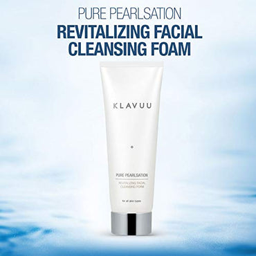 PURE PEARLSATION Revitalizing Facial Cleansing Foam, Face Cleanser
