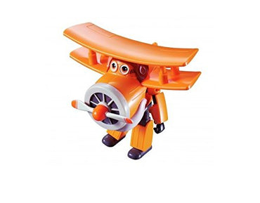 "Super Wings - Transforming Grand Albert Toy Figure | Plane | Bot | 5"" Scale"