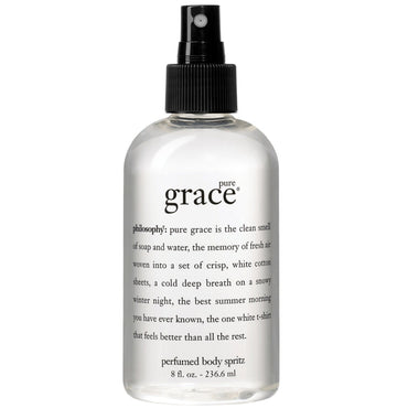 Pure Grace Body Spritz by Philosophy for Women - 8 oz Body Spray