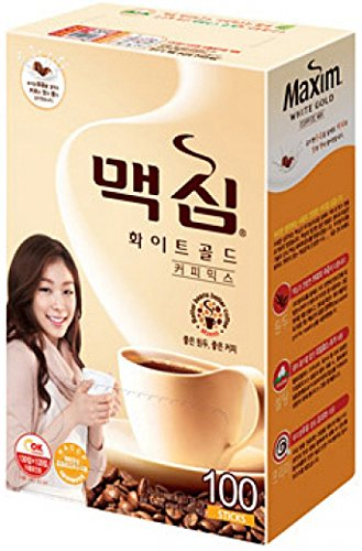 Maxim White Gold Instant Coffee - 100pks
