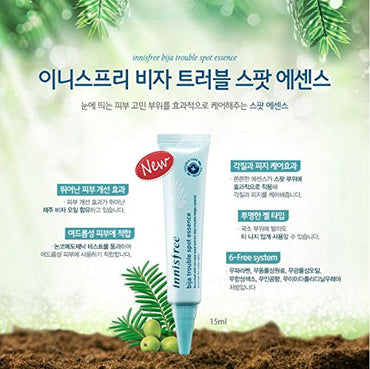 Innisfree Jeju Bija Anti Trouble Spot Essence