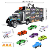 Transport Car Carrier Truck Educational Vehicles Toy Car Set for Toddlers