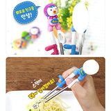 Petty Training Chopsticks for Right-hand Children Kids [Stainless Steel]