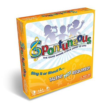 Spontuneous-The Song Game-Sing It or Shout It