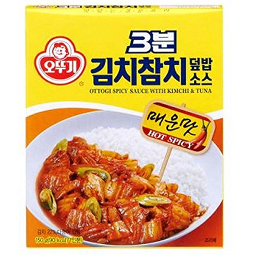 Korean Food Ottogi Spicy Sauce With Kimchi & Tuna150g
