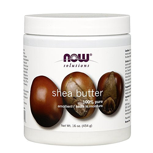 Now Solutions Shea Butter, 16-Ounce